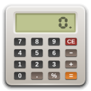 ti.hathix.com's mascot and logo, a calculator clip art image